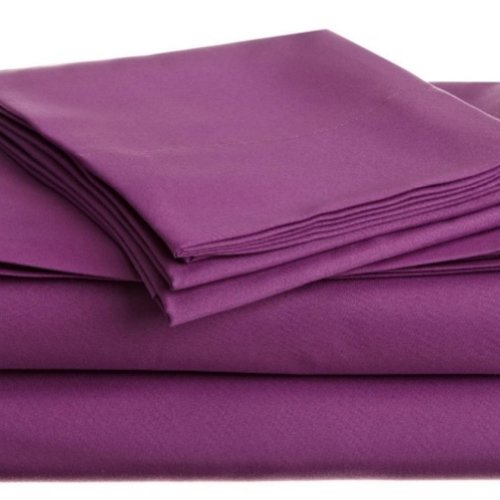 Room Essentials Twin Sheet Set Purple Single Bed Sheets