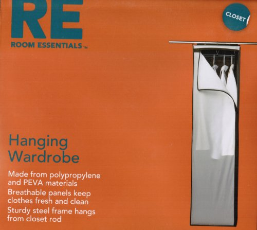 Room Essentials Hanging Wardrobe 54H x 14.5W x 20D